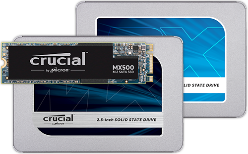 Crucial Solid State Drives (SSDs)